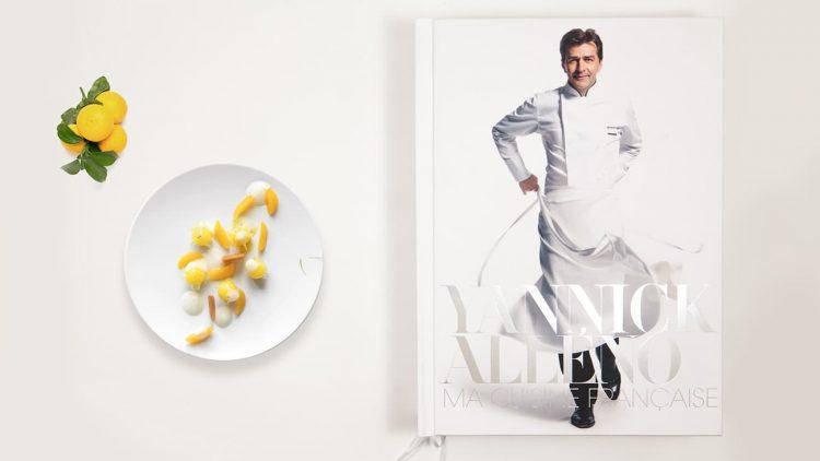 Le grand livre de Yannick Alléno ©design by HappyFactoryParis