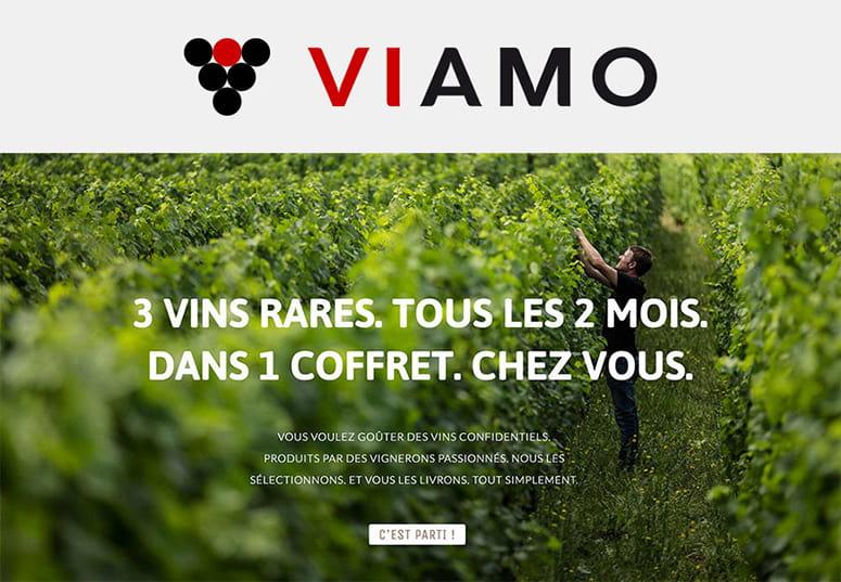 Site web Viamo.fr ©design Happyfactory Paris