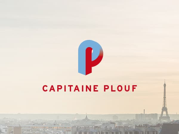 Logo Capitaine Plouf ©design by HappyFactoryParis