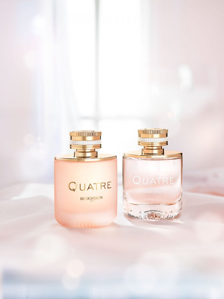 Parfum Boucheron Quatre en rose ©photo Antonin Bonnet