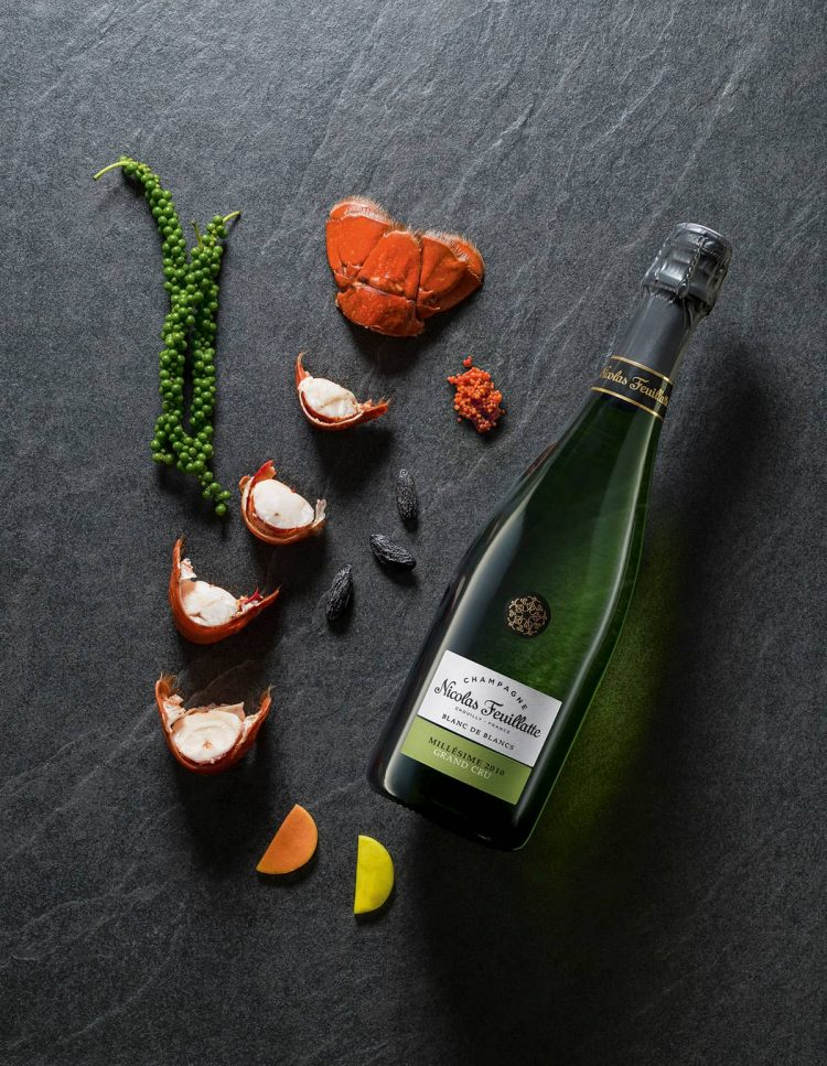 champagne Nicolas Feuillatte Grnad Cru Blanc de blanc