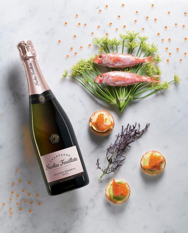 Champagne Nicolas Feuillatte Grande Réserve Rosé