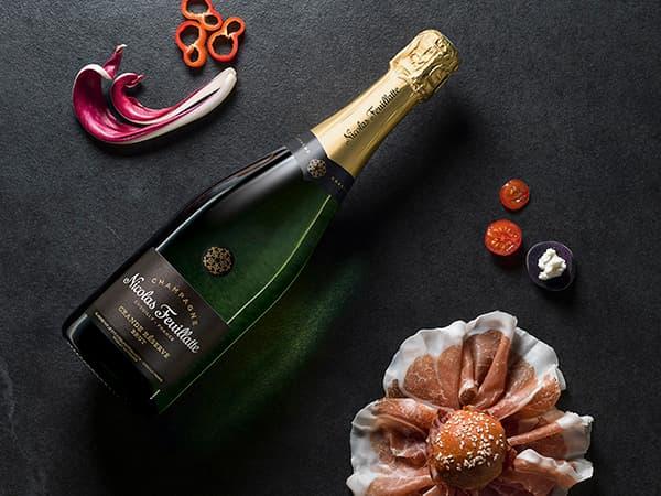 Champagne Nicolas Feuillatte Grande Réserve Brut ©photo Antonin Bonnet