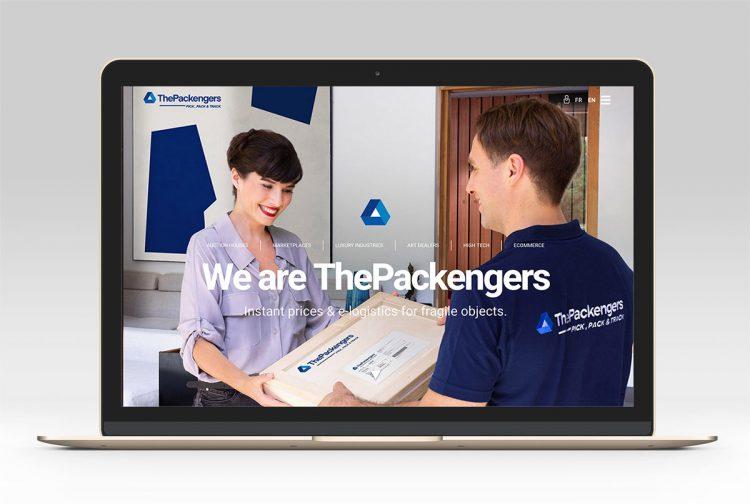 home du site web thepackengers.com