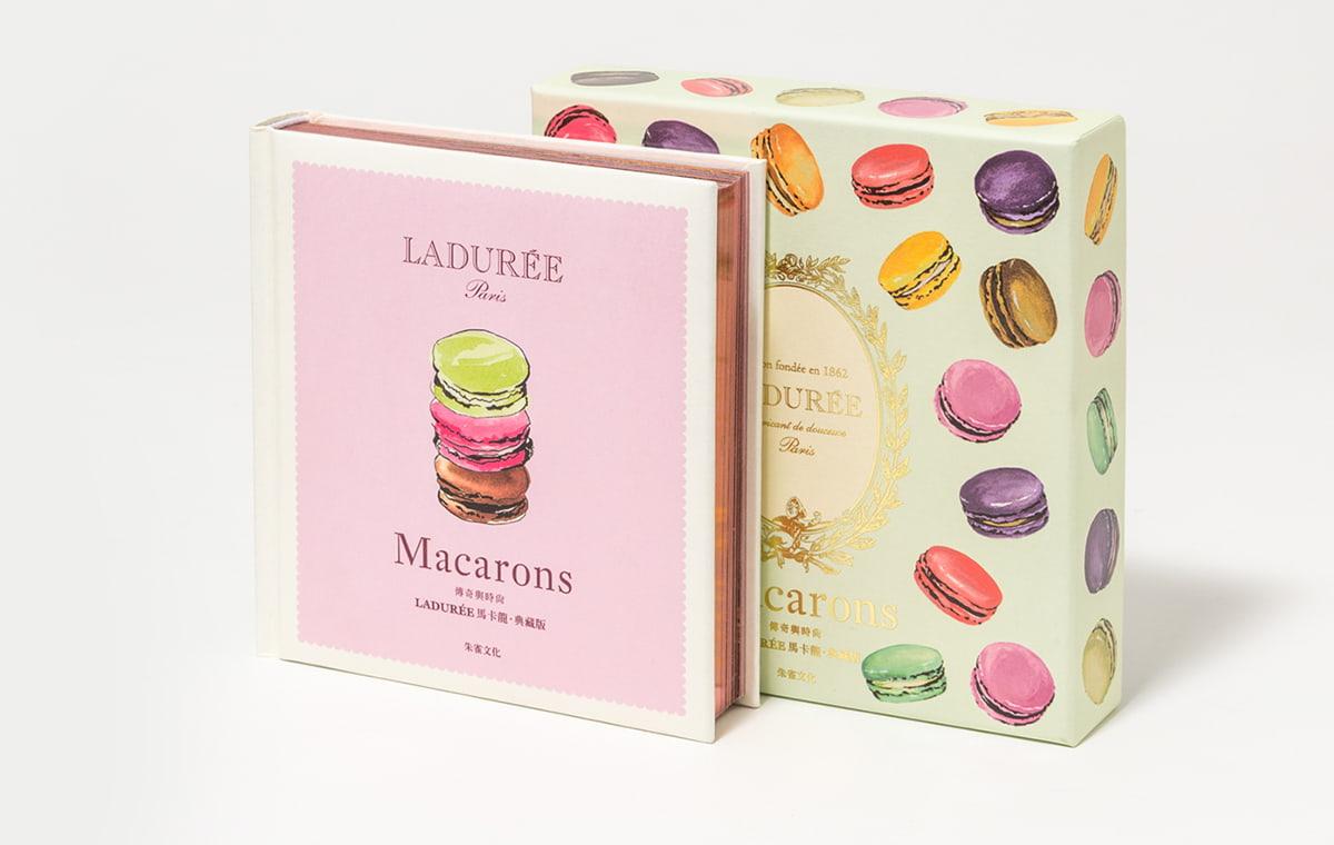 Livre Macarons Ladurée ©photos Antonin Bonnet