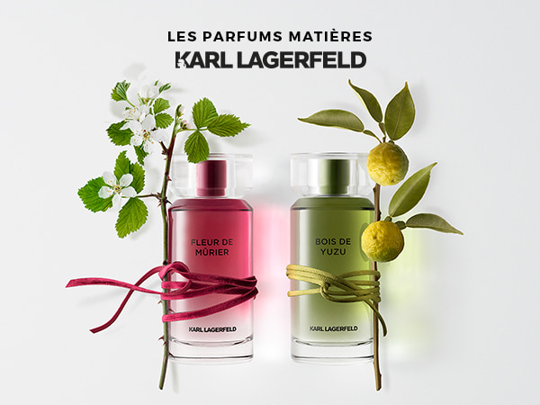 Les parfums matieres Karl Lagerfeld ©photo Antonin Bonnet