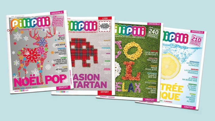 Magazine PiliPili ©design Happyfactory Paris